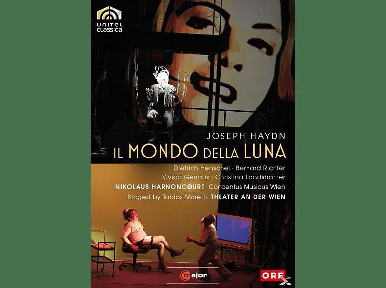 Richter, Harnoncourt, Genaux - Il Mondo Della Luna [DVD]