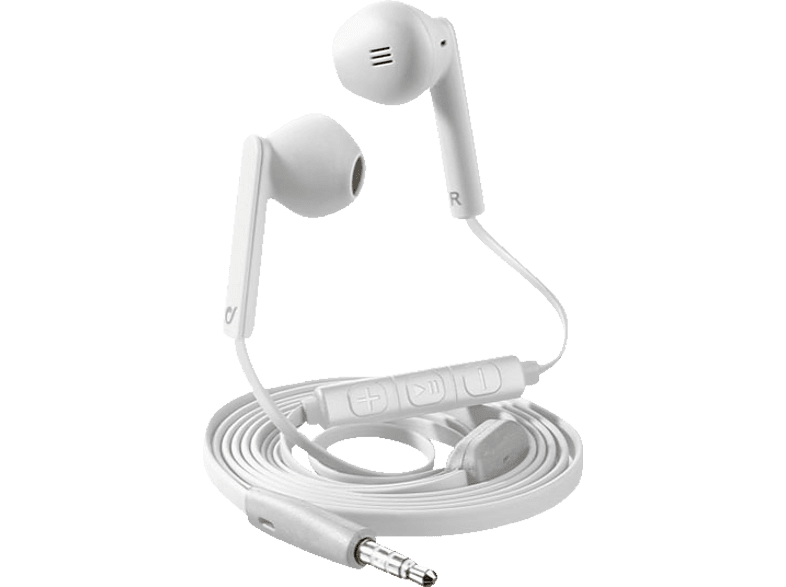 CELLULAR LINE Mantis Pro, In-ear Kopfhörer  Weiss