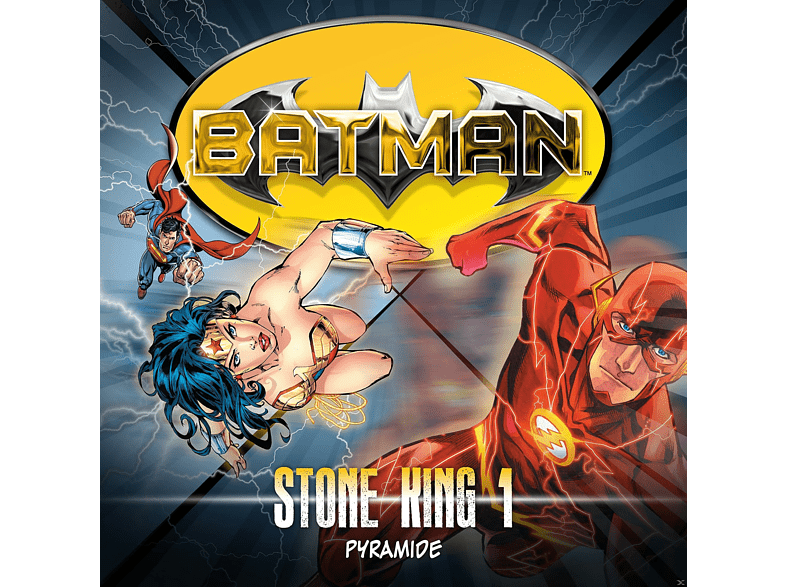 Allan Grant - Batman: Stone King-Folge 01 - (CD)