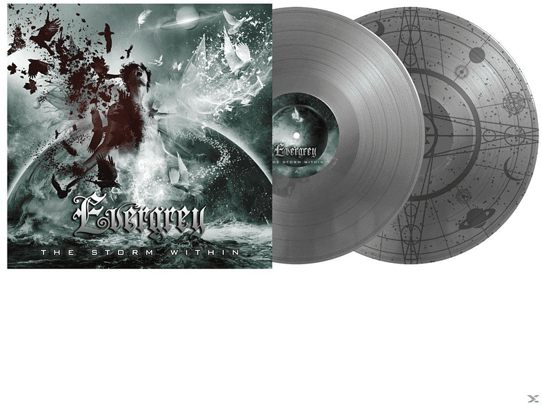 Evergrey - The Storm Within (GTF Double Silver Vinyl) [Vinyl]