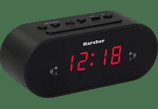 KARCHER UR 1030 Radio-Uhr, PLL Tuner, Schwarz