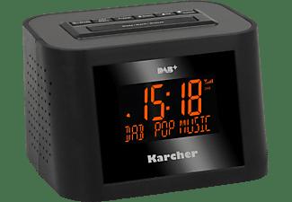 KARCHER DAB 2420 Radio-Wecker, Digital Radio, PLL Tuner, DAB+, DAB, Schwarz