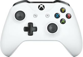 Mando - Microsoft, Inalámbrico, TF5-00003 Xbox One, Bluetooth, Blanco