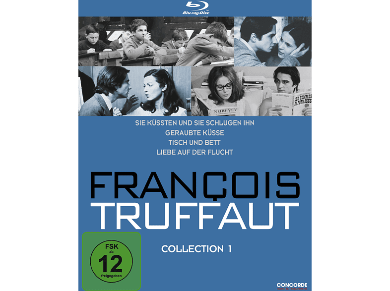 Francois Truffaut Collection 1 [Blu-ray]