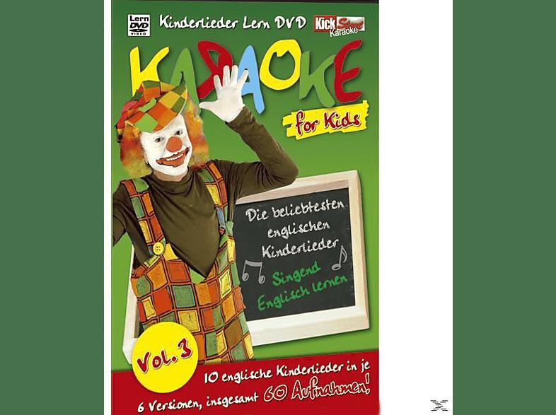 Karaoke For Kids Vol.3 [DVD]