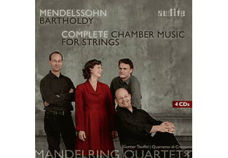 Mandelring Quartett, Quartetto Di Cremona, VARIOUS - Complete Chamber Music For Strings - (CD)