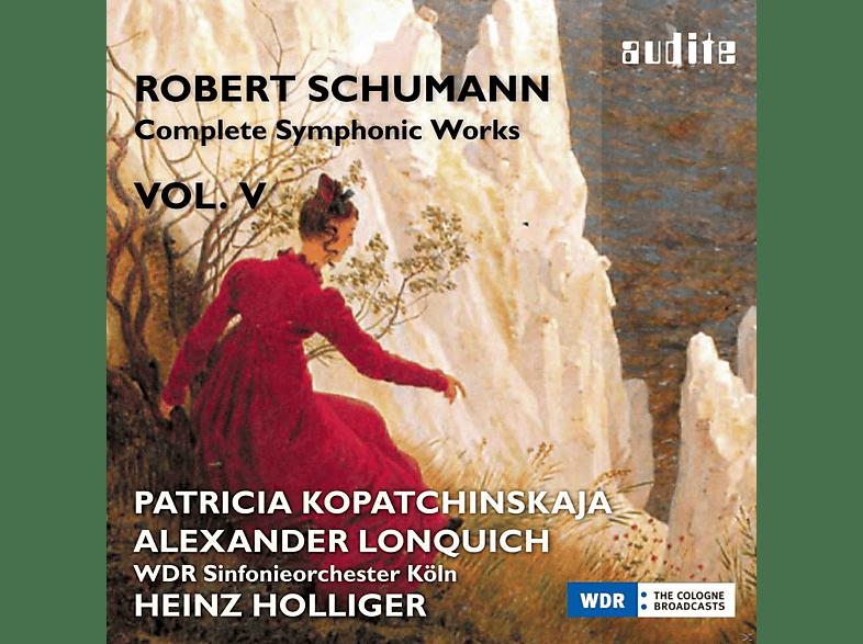Patricia Kopatchinskaja, Alexander Lonquich, Wdr Sinfonieorchester Köln - Complete Symphonic Works Vol.5 [CD]