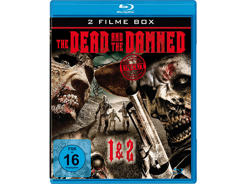 The Dead and the Damned 1 & 2 [Blu-ray]