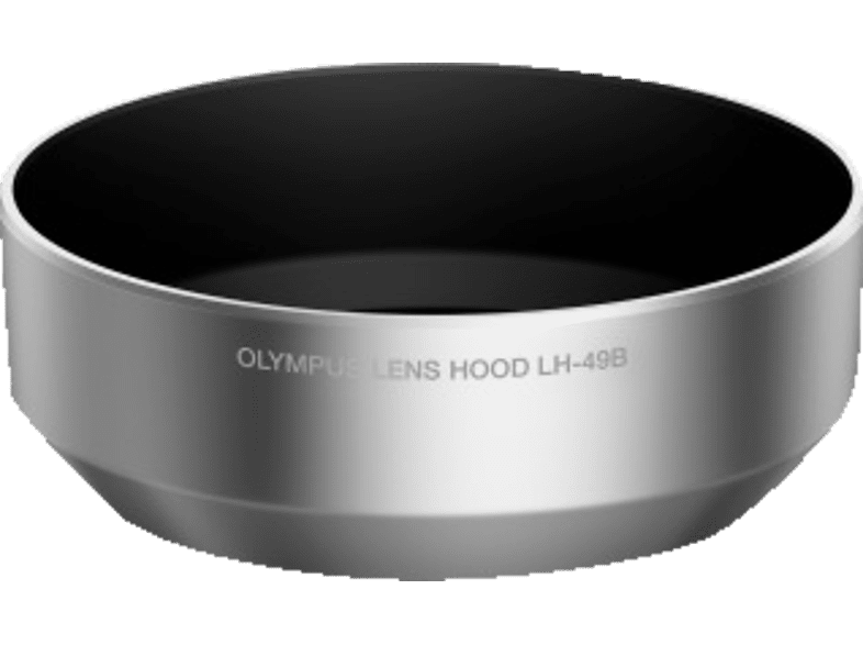 OLYMPUS LH‑49B Gegenlichtblende, Silber