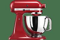 KITCHENAID 5KSM125EER Küchenmaschine Rot (Rührschüsselkapazität: 4,8 Liter, 300 Watt)