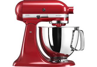 KITCHEN AID 4.8l Küchenmaschine Artisan 5KSM125EER Empire Rot