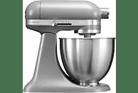 KITCHENAID 5KSM3311XEFG Mini Mini-Küchenmaschine Grau Matt (Rührschüsselkapazität: 3,3 Liter, 250 Watt)