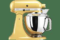 KITCHENAID 5KSM175PSEMY Küchenmaschine Pastellgelb (Rührschüsselkapazität: 4,8 Liter, 300 Watt)