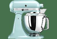 KITCHENAID 5KSM175PCEIC Artisan Küchenmaschine Eisblau (Rührschüsselkapazität: 4,8 Liter, 300 Watt)