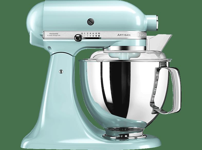 KITCHENAID 5KSM175PCEIC Artisan Küchenmaschine Eisblau 300 Watt