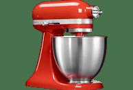 KITCHENAID 5KSM3311XEHT Mini Mini-Küchenmaschine Rot (Rührschüsselkapazität: 3,3 Liter, 250 Watt)