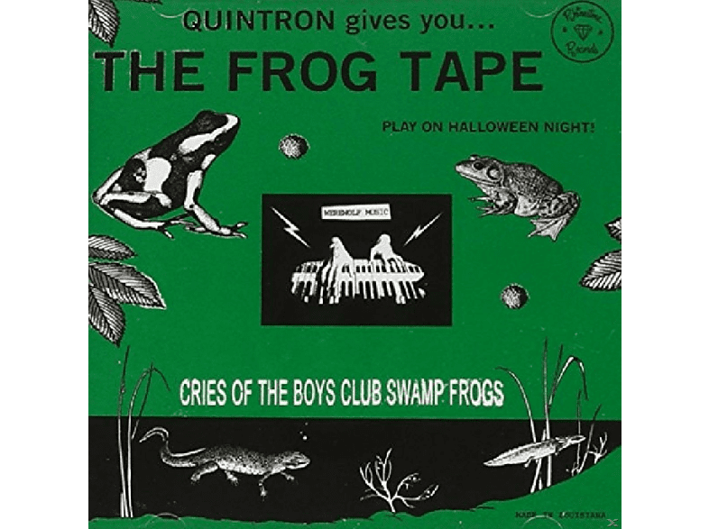 Quintron - The Frog Tape [CD]