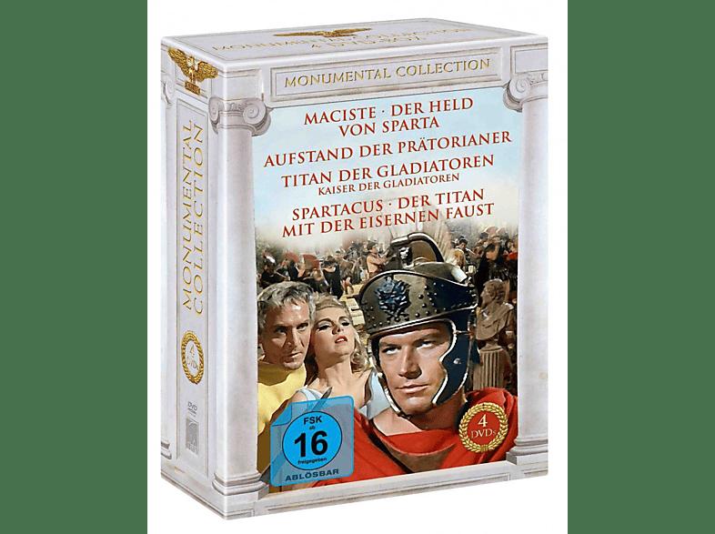 Monumental Collection - Heldenhafte Kämpfe im alten Rom [DVD]