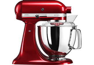 KITCHENAID 5KSM175PSECA ARTISAN LIEBESAPFELROT Küchenmaschine Liebesapfelrot (Rührschüsselkapazität: 4,8 Liter, 300 Watt)