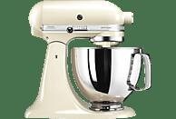 KITCHENAID 5KSM125EAC Küchenmaschine Creme (Rührschüsselkapazität: 4,8 Liter, 300 Watt)