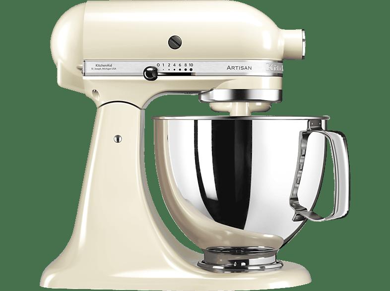 KITCHENAID 5KSM125EAC Küchenmaschine Creme 300 Watt