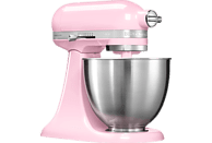 KITCHENAID 5KSM3311XEGU Mini Mini-Küchenmaschine Rosa (Rührschüsselkapazität: 3,3 Liter, 250 Watt)