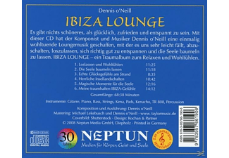 Dennis O'neil - Ibiza Lounge  - (CD)