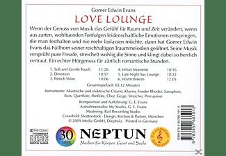 Gomer Edwin Evans - Love Lounge  - (CD)