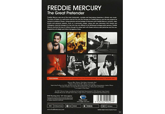 Freddie Mercury - THE GREAT PRETENDER  - (DVD)