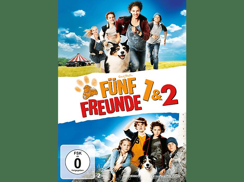 Fünf Freunde 1 & 2 Exklusiv Box [DVD]