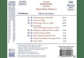 Olivier Cazal - Klaviermusik Vol.1  - (CD)