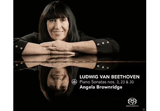 Angela Brownridge - Piano Sonatas 3, 23 & 30 - (SACD Hybrid)