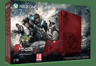 MICROSOFT Xbox One S 2TB Konsole - Gears of War Limited Edition Bundle