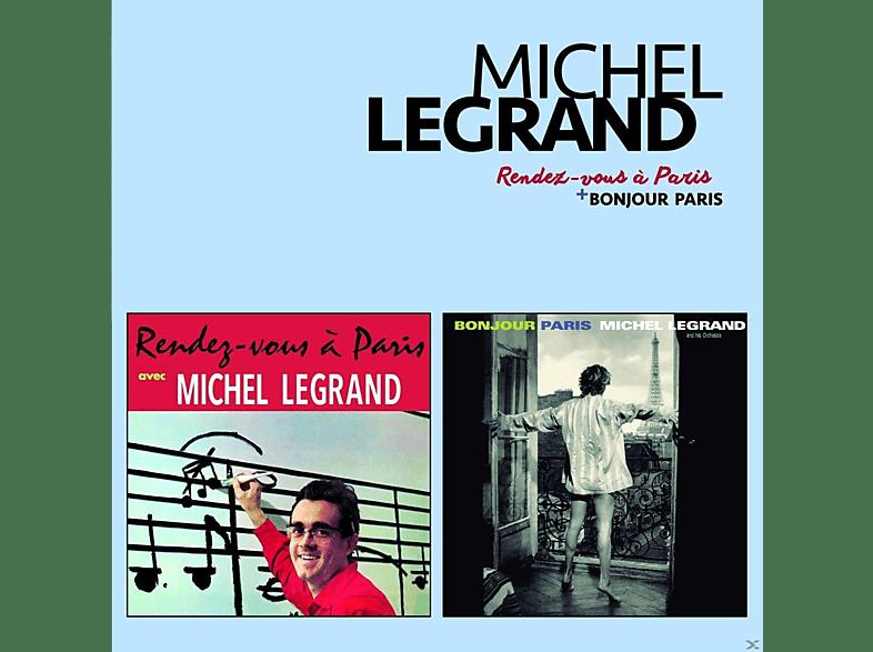 Michel Legrand - Rendez-Vous A Paris+Bonjour Paris [CD]