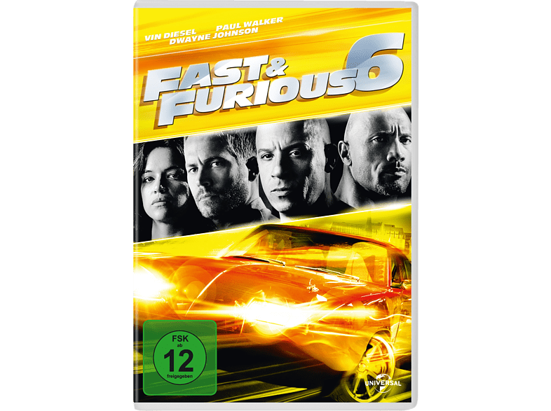 Fast & Furious 6 (Media Markt Exklusiv) [DVD]