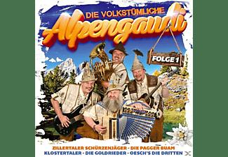 VARIOUS - Die volkstümliche Alpengaudi-Folge 1  - (CD)