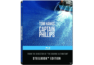 Captain Phillips (Steelbook Edition/Exklusiv) [Blu-ray]
