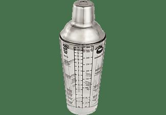 XAVAX Edelstahl Cocktail Shaker Transparent
