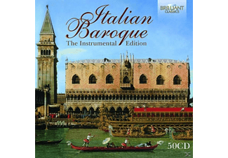 VARIOUS - Italian Baroque:The Instrumental Edition - (CD)