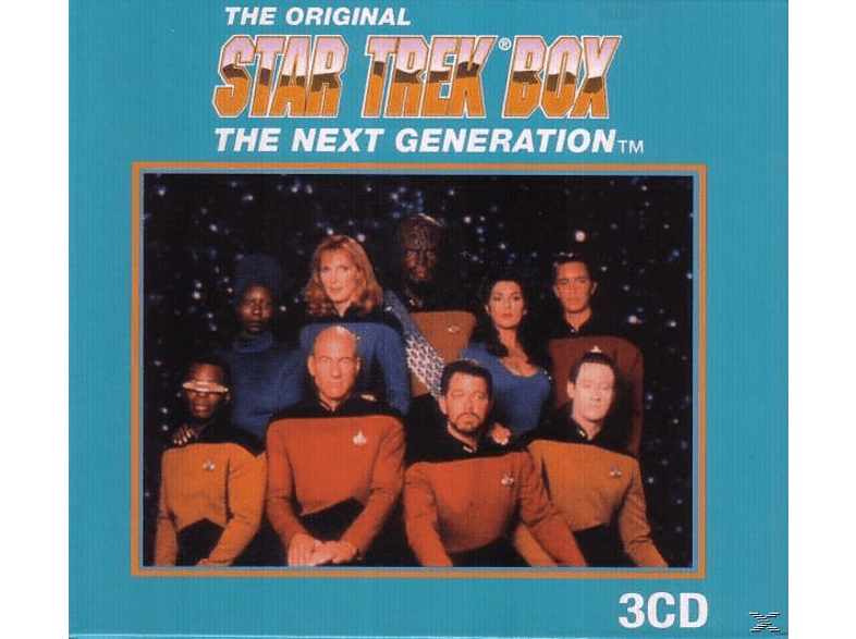 "VARIOUS, Soundtrack ""startrek"" - STARTREKBOX - THENEXTGENERATION [CD]"