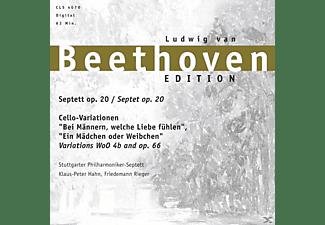 Ludwig Van Beethoven - Septett-Cello-Variationen  - (CD)