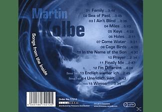 Martin Kolbe - Songs From The Inside  - (CD)