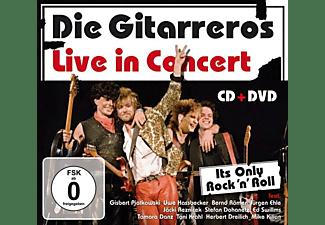 Die Gitarreros - It's Only Rock'n Roll,Live  - (CD + DVD Video)