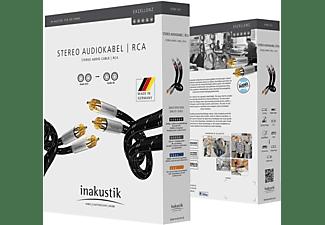 INAKUSTIK Exzellenz Audiokabel Stereo RCA 0.75m