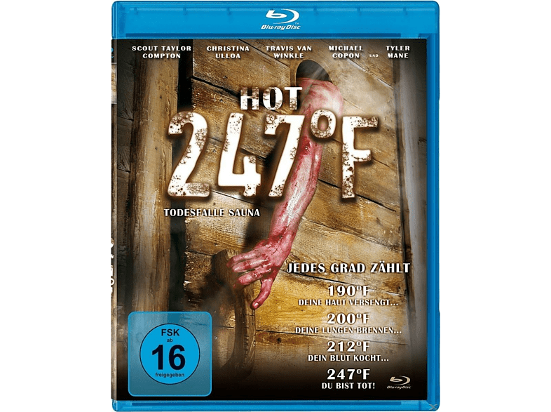 HOT 247°F-Todesfalle Sauna [Blu-ray]