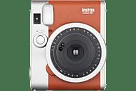 FUJI Sofortbildkamera Instax Mini 90 Neo Classic, braun