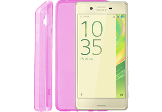IDOL 1991 Θήκη Sony Xperia X F5121 5 Ultra Thin Tpu 0.3mm Pink - (5205308169380)