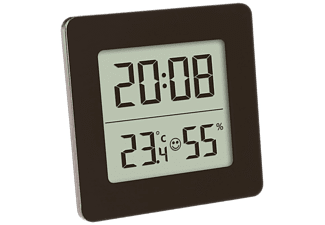 VIVANCO Digitales Thermo-Hygrometer, schwarz