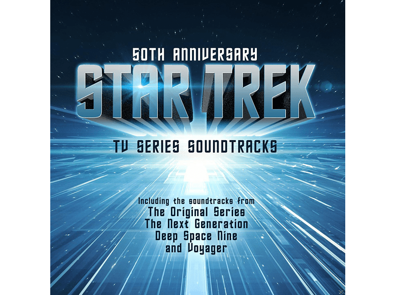 Star Trek - 50 Anniversary-TV Series Soundtracks [CD]