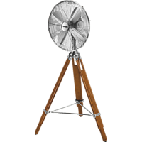 UNOLD 86895 Standventilator Chrom/Kiefer (45 Watt)
